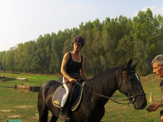 Journée du cheval avec Jizella de Montfort (TF)