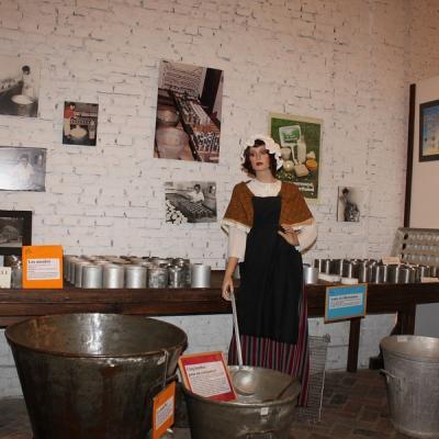 Musée du camembert à Vimoutiers